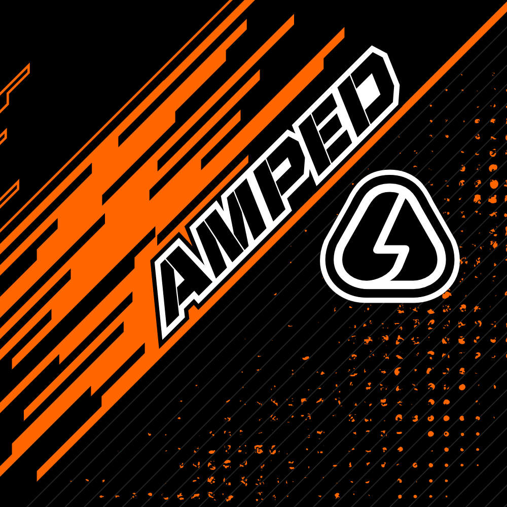 Amped Pace Trials Clothing Artwork
